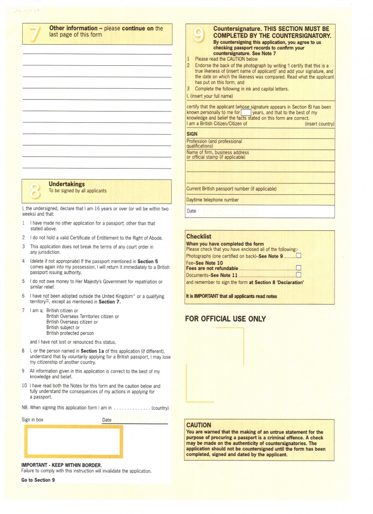 Necessary Documents For An Embassy Biotexcom Center