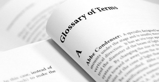 Terminology and Glossary