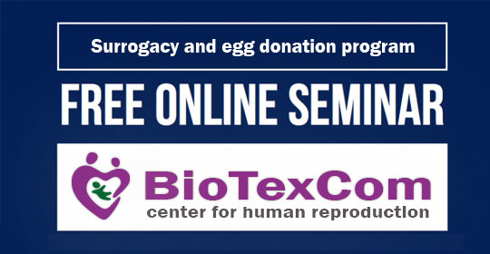 BioTexCom clinic had a webinar on surrogacy and egg donation on the 2nd of February