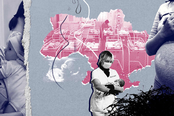 The stranded babies of Kyiv and the women who give birth for money